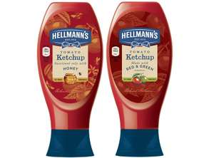 Hellman's Tomato Ketchup with Honey 818g £1 @ Heron