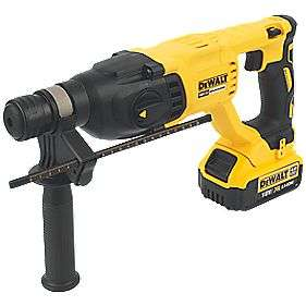 DEWALT DCH033 3KG 18V 4.0AH LI-ION XR CORDLESS BRUSHLESS SDS PLUS DRILL £199.99 @ Screwfix