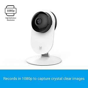 YI Home Camera 1080p FHD, Wireless Wifi Camera with IP Security Surveillance System and Night Vision for Baby/Pet / Elder  £34.99 Sold by YI Official Store UK and Fulfilled by AMAZON