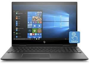 """HP ENVY x360 15-cp0000na Convertible Laptop, AMD Ryzen 5, 8GB RAM, 1TB HDD + 128GB SSD, 15.6"""", Full HD, Dark Ash Silver with 3 year Care Pack £781 @ HP Store"""