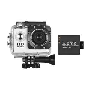 Cámera Mini Sports DV 1080P HD Action Camera Webcam £9 Delivered @ Tomtop