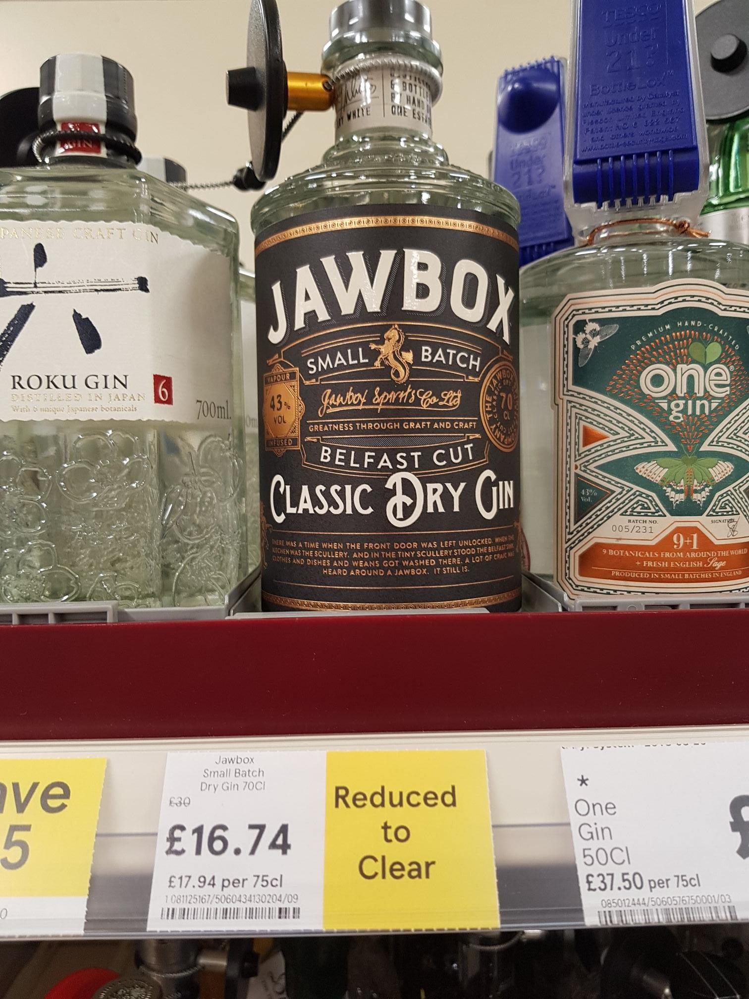 Jawbox Gin £16.74 @ Tesco in-store (Aberdeen)