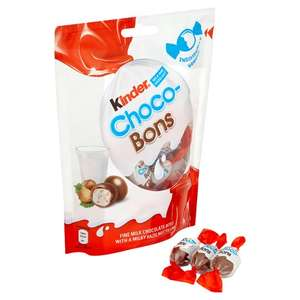 Kinder Choco-Bons Chocolate Bag 104G £1 @ Tesco