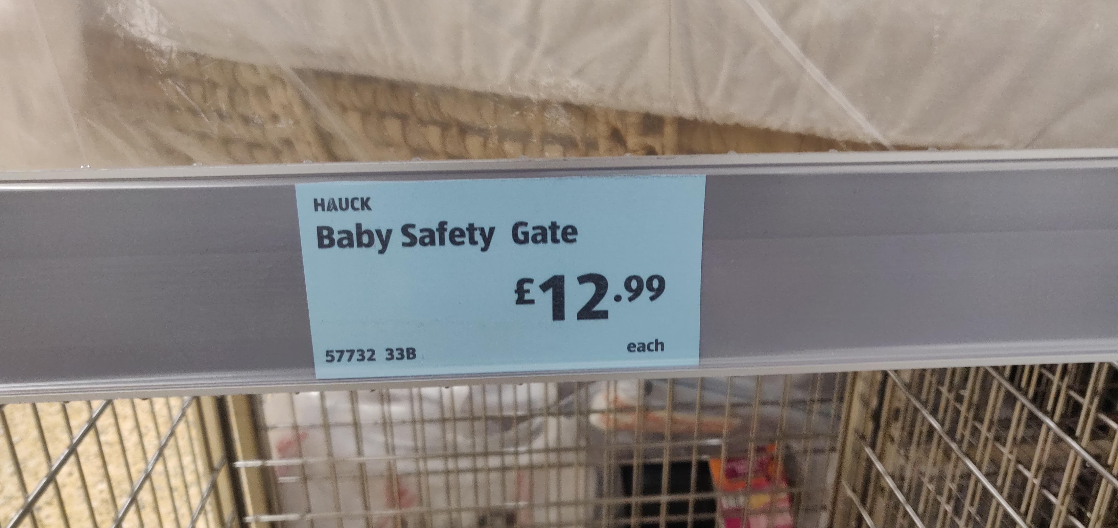 Hauck Safety Gate Aldi 12 99 Instore Stretford Hotukdeals