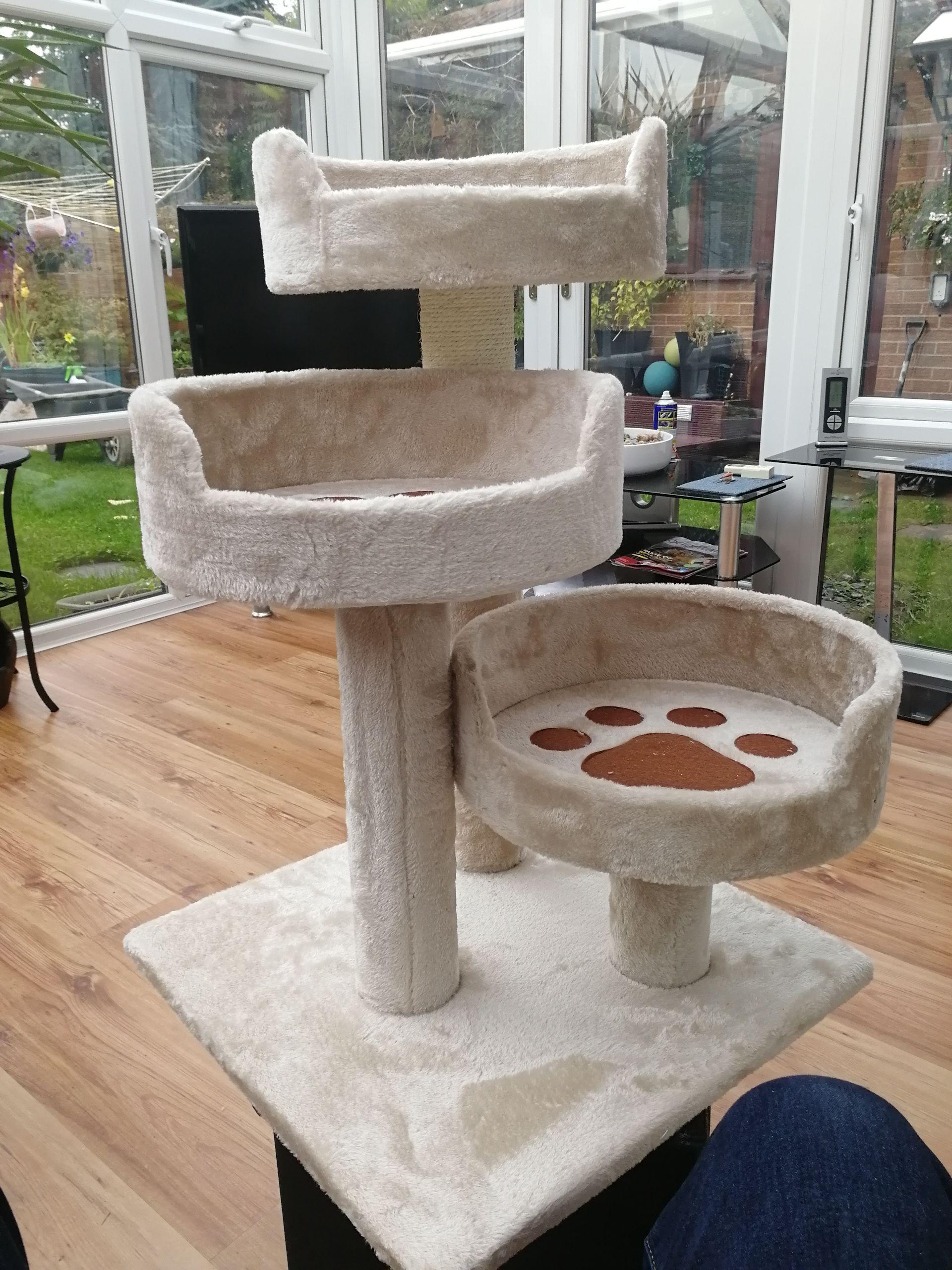 3 Tier Cat Bed/Scratching Post - £10 instore @ Lidl (Warrington)