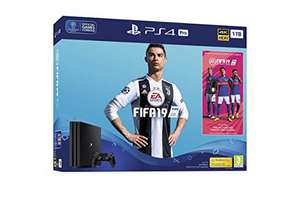 FIFA 19 PS4 Pro 1TB Bundle with FIFA 19 Ultimate Team Icons and Rare Player Pack - £349.99 @ Amazon (pre order)