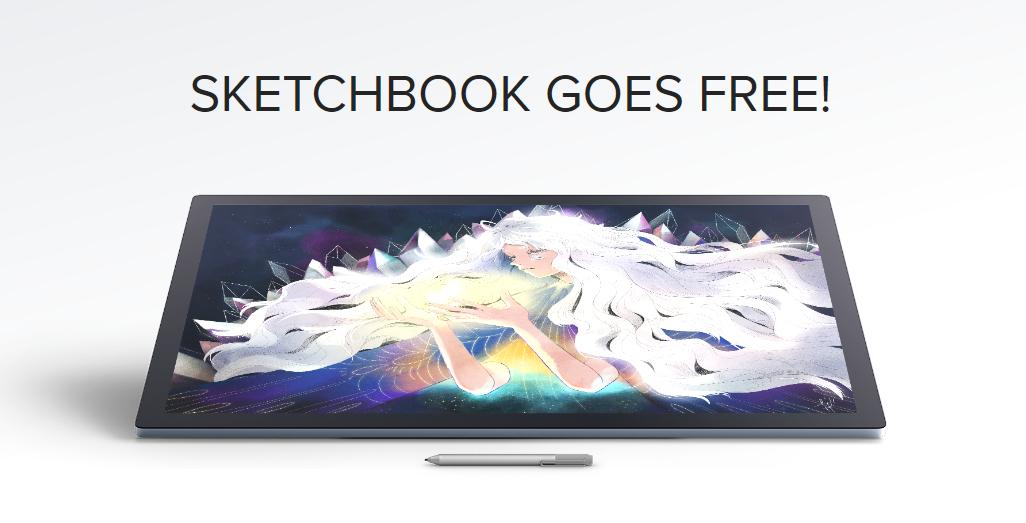 Autodesk Sketchbook - Was £67 now FREE