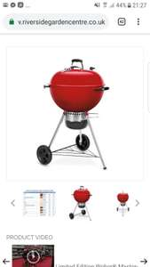 Weber limited edition GBS red - £179.99 @ Riverside Garden Centre