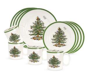 Spode Christmas Tree range upto 80% off then extra 20% with code eg 12 piece dinner set was £206 now £38.36 delivered - prices from £3.91 @ Portmeirion Group