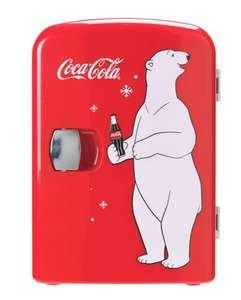 Coke Mini Fridge With Bear £34.99 @ Argos