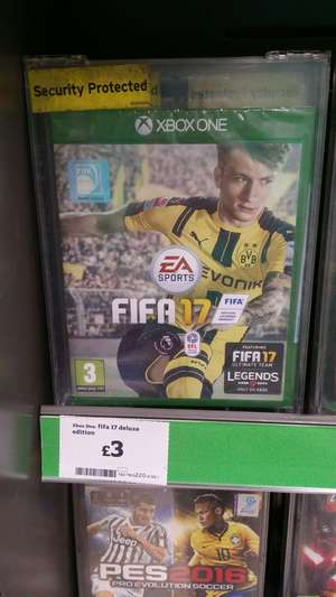 Fifa 17 deluxe edition XBOX ONE £3 Sainsbury's
