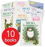 Mog Picture Book Collection - 10 Books £11.99 / £14.94 delivered @ Book people