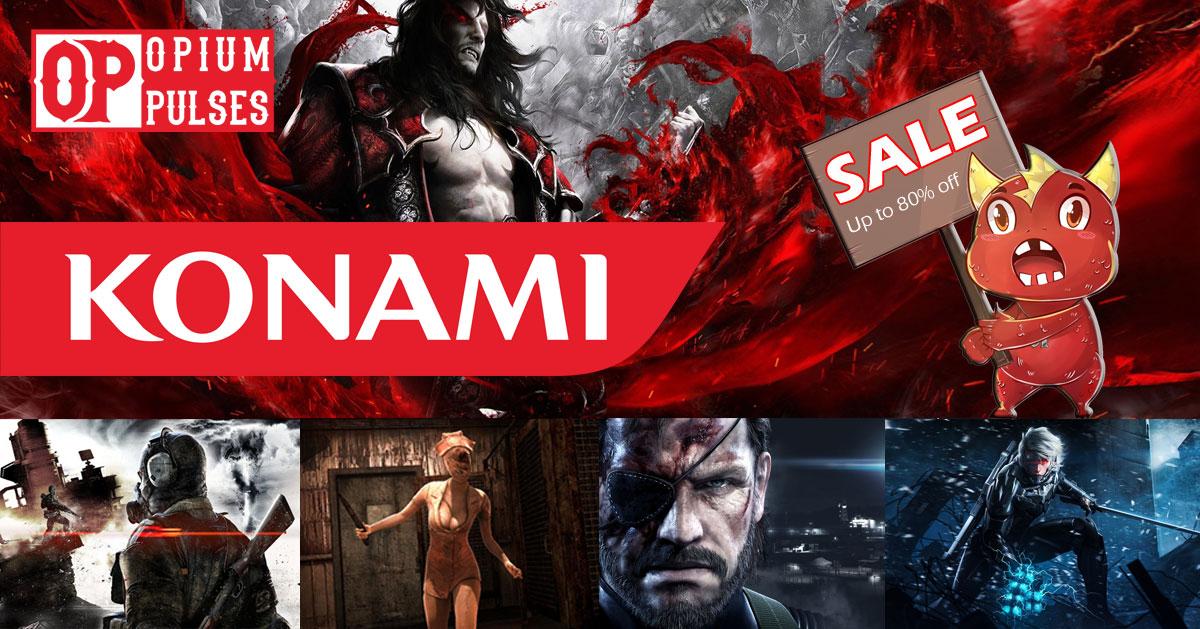 Konami PC Sale - up to 80% off @ Opiumpulses