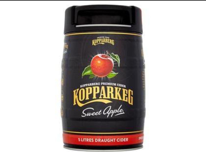 Kopparberg Sweet Apple 5 litre keg £12 @ Asda -  Fleetwood Asda