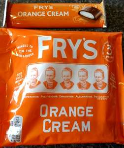 They're back......Fry's orange creams 3 for £1 @ Poundland