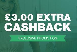 Topcashback £3 bonus on £10 spend