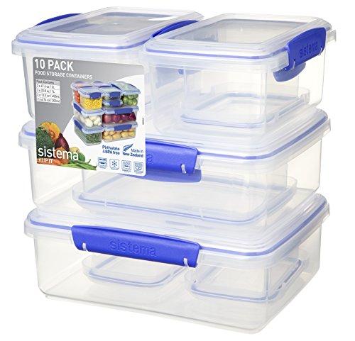Sistema Pack of 10 - £10.99 (Prime) / £15.48 (non Prime) at Amazon