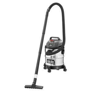 Ozito wet and dry vacuum at Homebase -- Only £25 (free c&c)