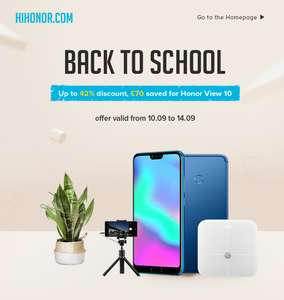 Honor Back To School Offers e.g Honor 7c - £129.99