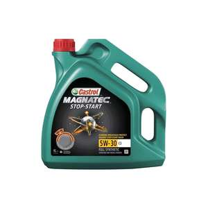 Castrol Magnatec 5W30 C3 Stop Start Fully Synthetic Engine Oil. 4 Litre £28.49 (+£3.95 Delivery) @ Micks garage