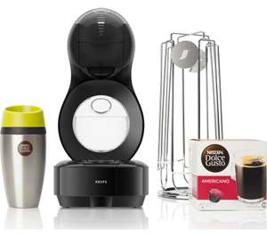 DOLCE GUSTO by Krups Lumio KP138BUN Coffee Machine + Travel mug + Pod Holder + Pods £54.99 delivered @ Currys