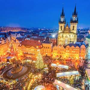 Prague 2 Night 4 Star Christmas Markets Break inclu Hotel, Breakfast & Flights £59pp / £118 @ Go Groopie (Works out £29.50pppn)