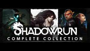 [Complete collection] Shadowrun 80% off £8.79 @ humble bundle