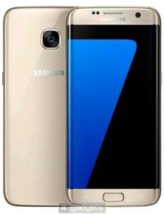 Samsung Galaxy S7 Edge Gold Platinum Pristine Condition £219 @ 4Gadgets
