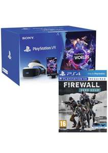 PlayStation VR Starter Kit with FireWall Zero Hour, The Persistence or WipeOut £199.99 from Zavvi