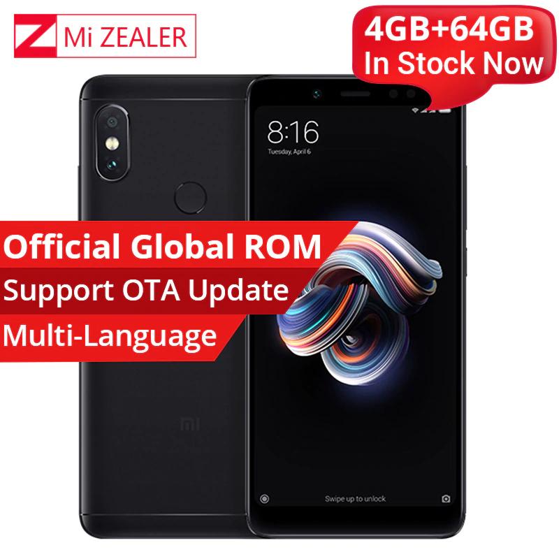 Xiaomi Redmi Note 5 4GB 64GB Smartphone Snapdragon 636 Octa Core 2160x1080 5.99 Inch 4000mAh 12MP Dual Camera MIUI £125.63 @ Ali Express  Store: Mi Zealer Store