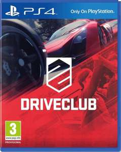 Driveclub PS4 (Non-Greatest Hits Version) £5.99 @ Play UK Ebay