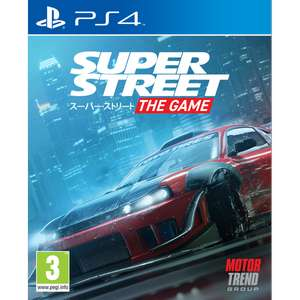 Super Street The Game PS4 £25.99 / Nintendo Switch £27.99 (PRE-ORDER) at shop4world
