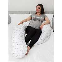 12ft Body / Maternity Pillow with Removable Cover £20.90 C+C @ Asda George