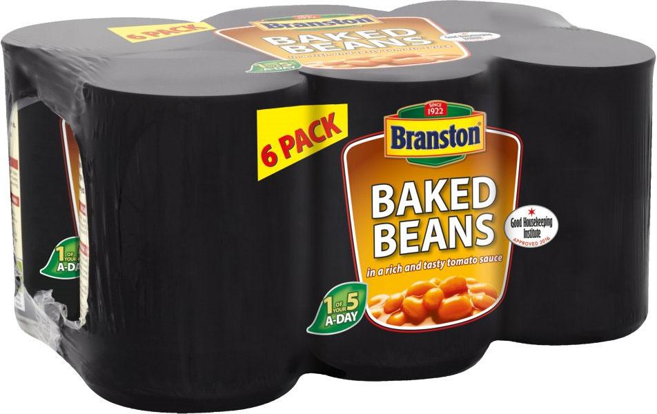 Branston Baked Beans (6x410g) £2 @ Asda