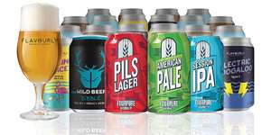 20 Craft Beers for only £19 Includes Free Delivery at Flavourly