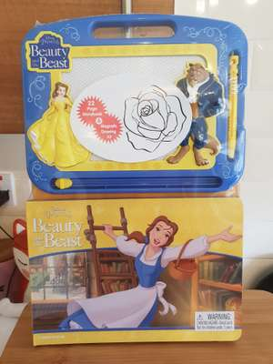 Beauty and the beast book set also ninja turtles £2.99 at home bargains