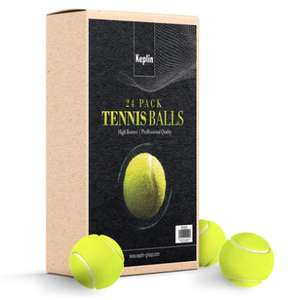 24 Tennis Balls perfect for your furry friend £9.98 / £11.97 delivered @ Groupon