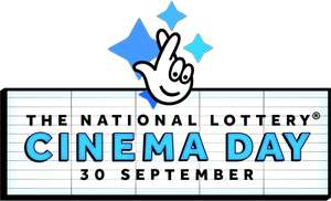 National Lottery Free Cinema Day at 100+ independent cinemas across UK on Sunday 30 September  (purchase Lotto ticket for draws between between 26 - 29 September to qualify)