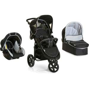 Hauck Viper SLX Trio Set (Caviar/Grey) with free rain cover and free delivery £182.99 sold by precious little one