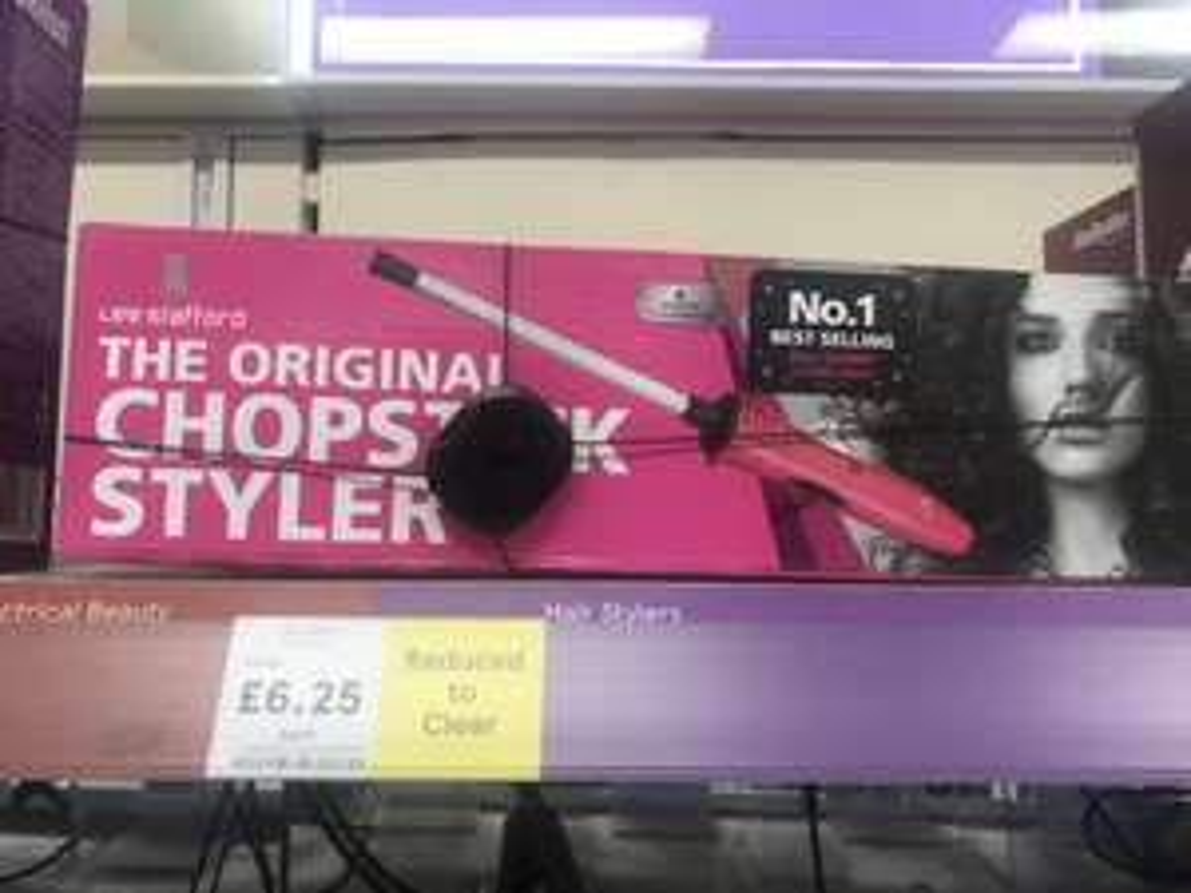 Lee Stafford Chopstick hair styler!  instore at Tesco £6.25!
