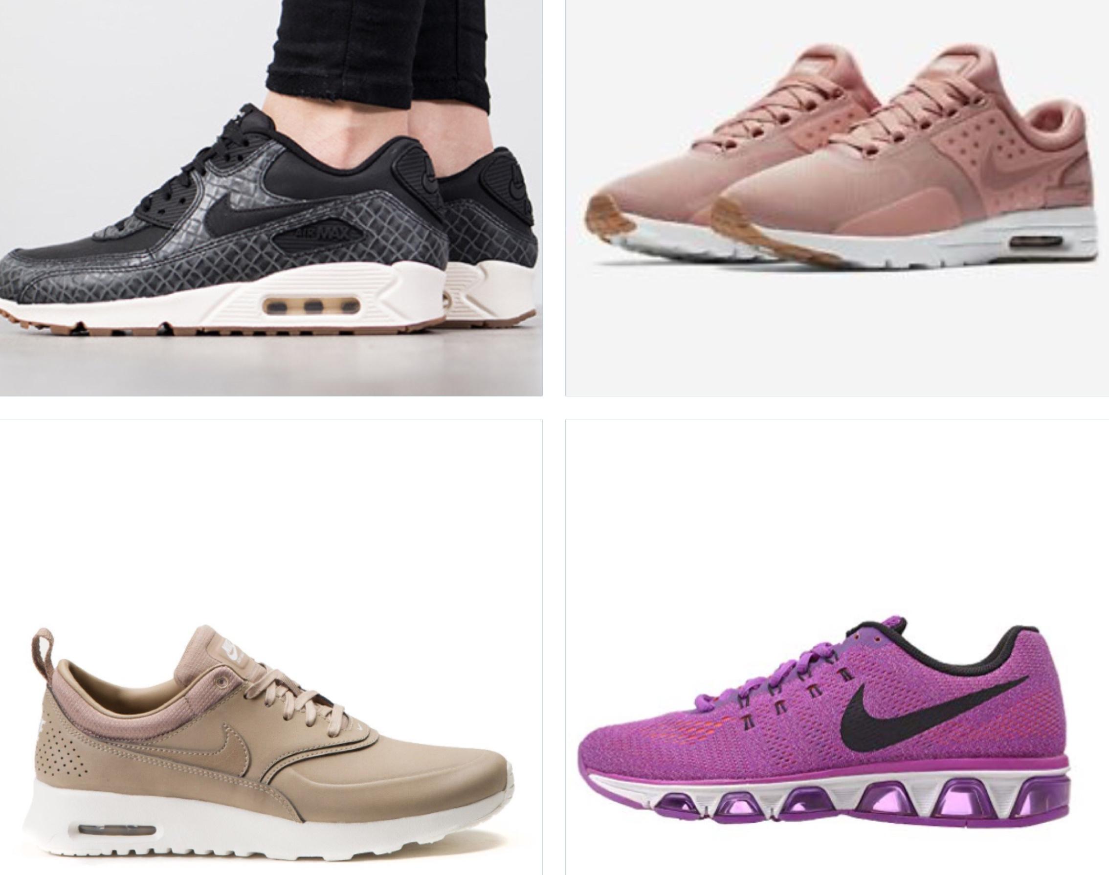 Women's Nike Air Max 90's, Thea, Zero & Tailwind £35 Nike Clearance Castleford
