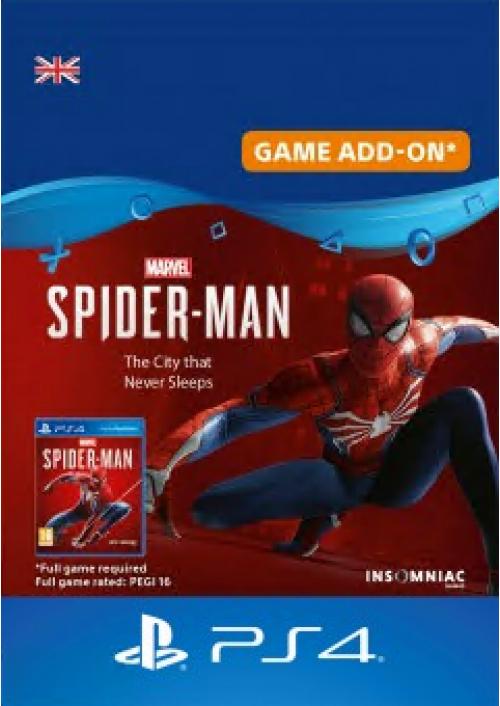 Marvel's Spider-man PS4 - The City that Never Sleeps DLC £13.99 @ CDKeys