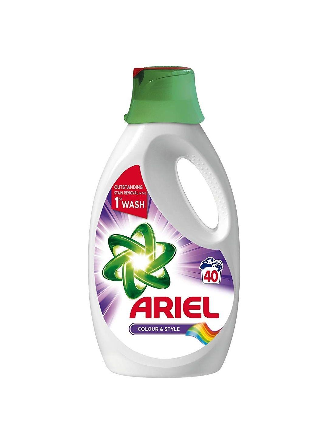 Ariel Colour 40 Washing Detergent £4.40 @ tesco instore (11p per wash)