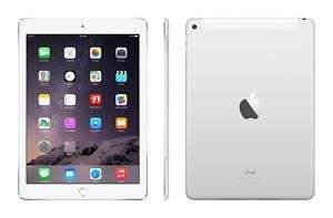 Apple iPad Air 2 64GB, Wi-Fi, 9.7in - Silver refurb. £219.95 ebay /  ultimo-electronics