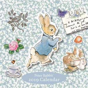 Peter Rabbit 2019 Square Calendar (was £9.99) Now £4.00 C&C at The Works