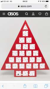 Christmas Jewellery Advent Calendar £22.50 / £25.50 delivered @ ASOS