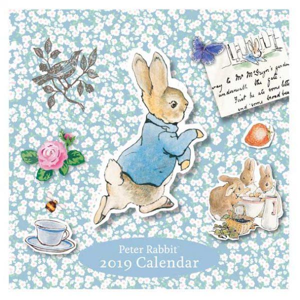 Beatrix Potter 2019 Square Calendar £2.99 / £7.94 delivered - Beatrix Potter Shop