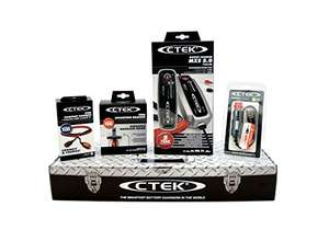CTEK MXS 5.0 (56-305) Car Battery Charger and Accessories Toolbox Set £90 Amazon Italy