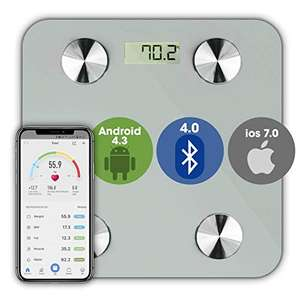 Smart Bathroom scale with Bluetooth £16.10 prime / £20.59 non prime Sold by Futura Direct Ltd and Fulfilled by Amazon