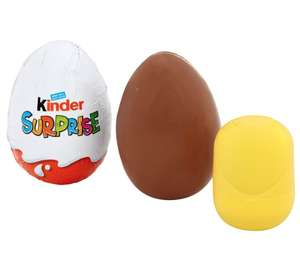 Kinder eggs in store reduction 25P poundland Musselburgh